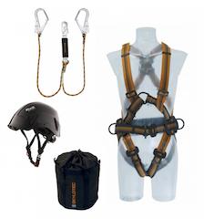 Persönliche Schutzausrüstungen gegen Absturz / PSAgA Sets