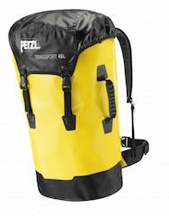 Transportsäcke und Taschen für Kletterer