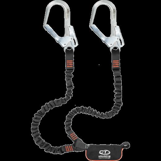 Falldämpfer Y Form mit elastischen Armen - scharfkantengeprüft - CT Flex ABS 140 Steel Y
