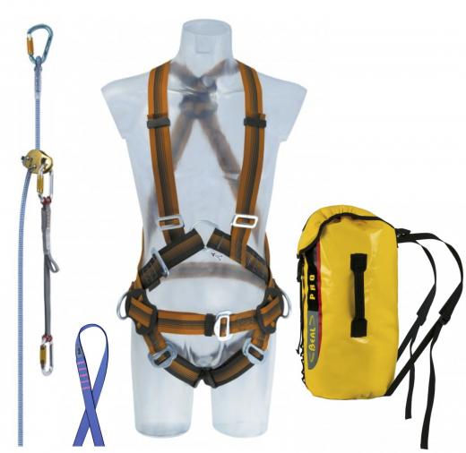 Beal Air Kit Set - Basic Set für Arbeiten auf geneigten Flächen.