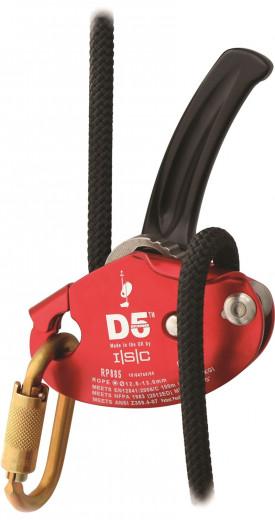 ISC D5 Abseilgerät (12.5 - 13mm Seile)