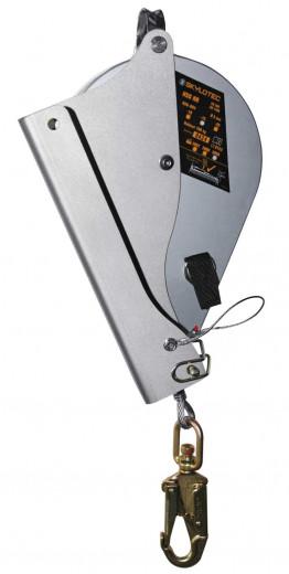 Skylotec Höhensicherungsgerät mit Dreibeinhalterung 15m Stahlseil