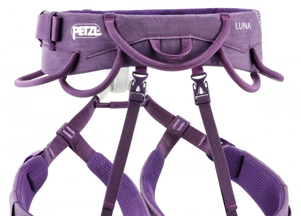Climbing Technology Klettergurt : Petzl luna klettergurt für damen