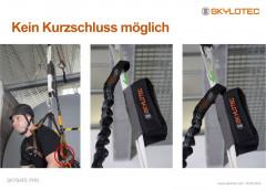 Skylotec Skysafe Pro Flex (Rohrhaken/ 3-Wege-Karabiner)