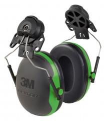 Schlanker Kapselgehörschutz mit Helmbefestigung