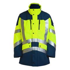 Hochsichtbare Arbeitsjacke / Warnschutzjacke Wahler CAVAZZO EBX