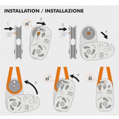 CT - Climbing Technology Grizzly Seilrolle für Baumfällung