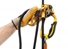 Petzl Rollclip - Karabiner mit integrierter Seilrolle