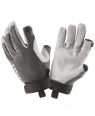Robuste Kletterhandschuhe mit Kalbsleder Handflächen