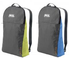 Leichter Seilsack mit Schulterträgern und integrierter Plane