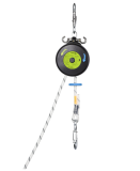 Abseilgerät/Rettungsgerät mit Hubfunktion - Edelrid Safe Descent 9.8mm