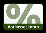 Vorkasse 2% Skonto